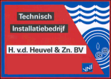 H. van den Heuvel Logo